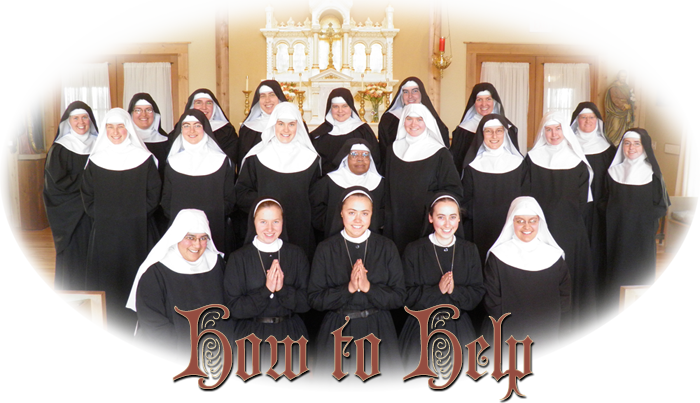 How To Help Benedictines Of Mary Queen Of Apostles
