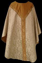 Brocade with Gold Insert